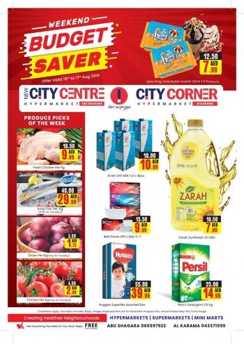 City Centre Supermarket New City Centre Hypermarket Weekend Budget Saver