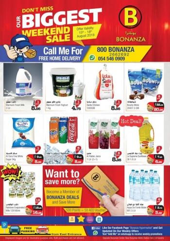 Bonanza Hypermarket Bonanza Hypermarket Biggest Weekend Sale