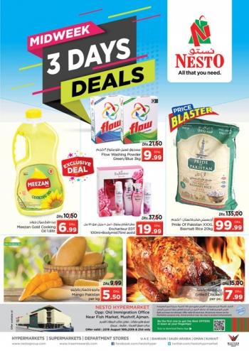 Nesto Hypermarket 3 Days Midweek Deals