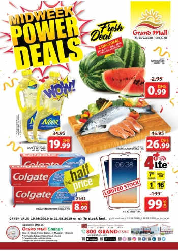 Grand Hypermarket Grand Mall Midweek Power Deals