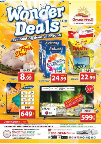 Grand Hypermarket Grand Mall Wonder Deals