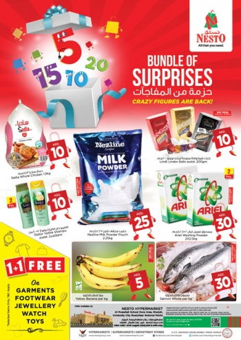 Nesto Nesto Hypermarket Bundle Of Suprises in Muweilah, Sharjah