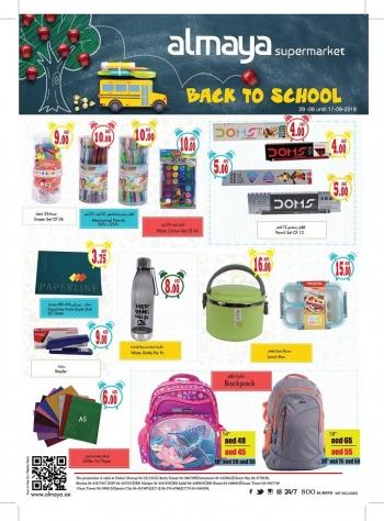 Al Maya Al Maya Supermarket Back To School Offers