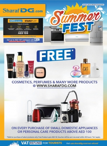 Sharaf DG Sharaf DG Summer Fest Great Offers