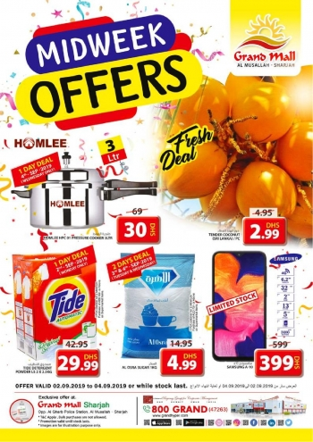 Grand Hypermarket Grand Mall Super Midweek Offers