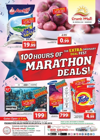 Grand Hypermarket Grand Mall Marathon Deals