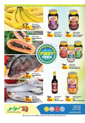 Lulu Lulu Hypermarket Pinoy Fiesta Offers