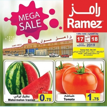 Ramez Ramez Mall Sharjah Mega Sale Offers