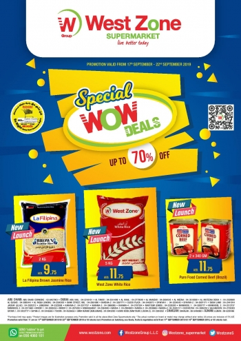 West Zone Fresh Supermarket West Zone Supermarket Special Wow Deals