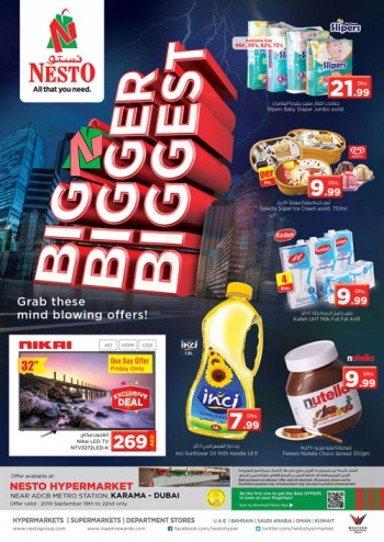 Nesto Karama Weekend Grabs Offers