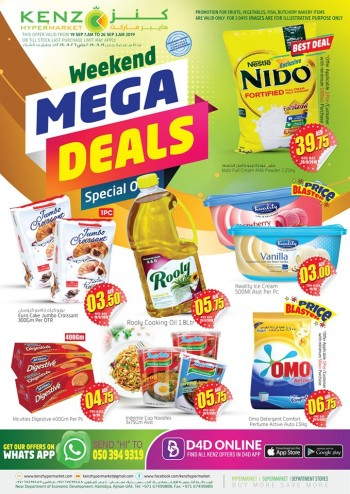 Kenz Kenz Hypermarket Weekend Mega Deals
