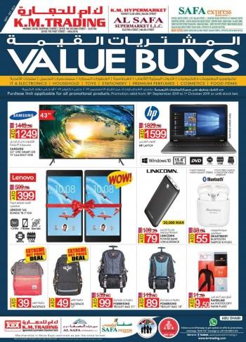 K M Trading K M Trading & K M Hypermarket Abu Dhabi Value Buys