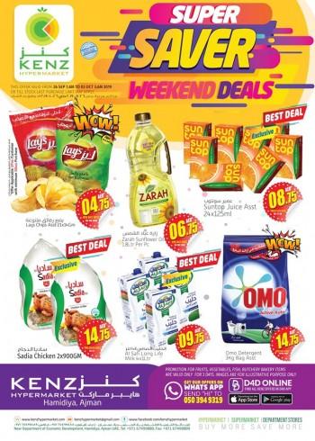 Kenz Kenz Super Saver Weekend Deals
