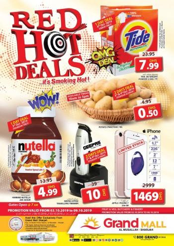 Grand Hypermarket Grand Mall Red Hot Deals