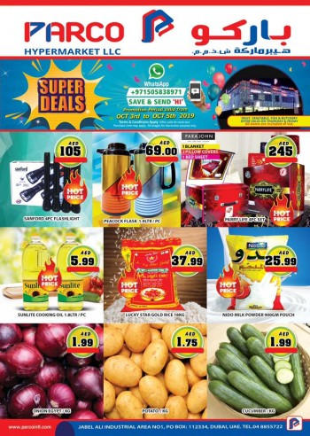 PARCO Hypermarket Parco Hypermarket Super Deals