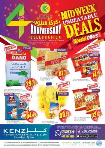 Kenz Kenz Hypermarket Midweek Unbeatable Offers