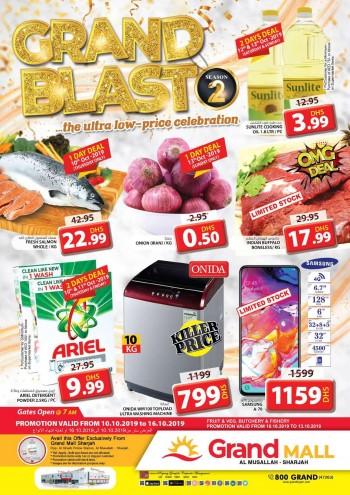 Grand Hypermarket Grand Mall Grand Blast Offers