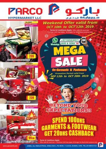 PARCO Hypermarket Parco Hypermarket Mega Sale Offers