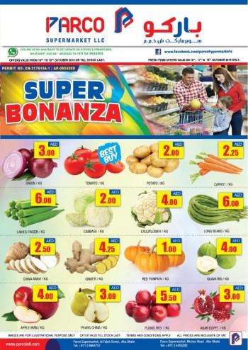 PARCO Hypermarket PARCO Supermarket Super Bonanza Offers