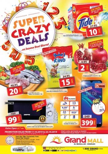 Grand Hypermarket Grand Mall Super Crazy Deals