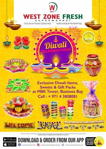 West Zone Fresh Supermarket West Zone Fresh Supermarket Diwali Offers