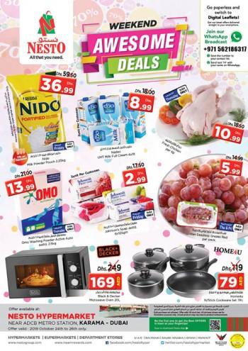 Nesto Nesto Karama Weekend Awesome Deals