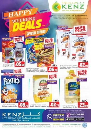Kenz Kenz Hypermarket Happy Weekend Offers