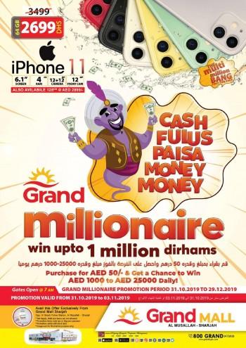 Grand Hypermarket Grand Mall Grand Millionaire Offers