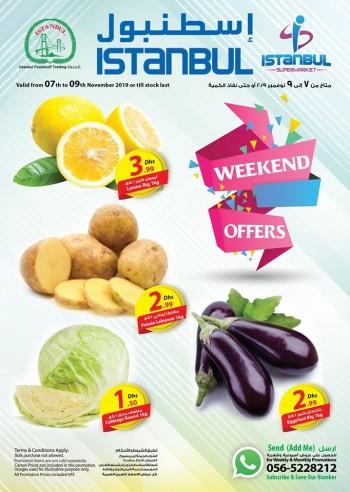 Istanbul Supermarket Istanbul Supermarket Great Weekend Offers