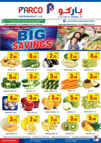 PARCO Hypermarket Parco Supermarket Big Savings Offers