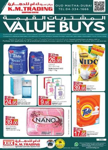 K M Trading KM Trading Dubai November Value Buys