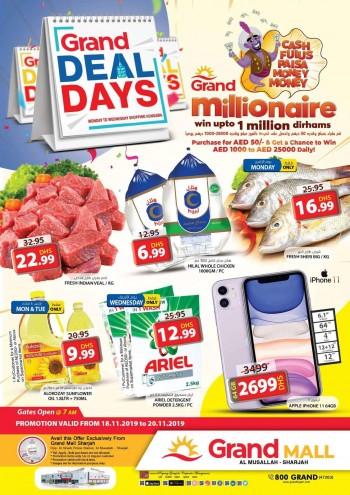 Grand Hypermarket Grand Mall Grand Deal Days Offers