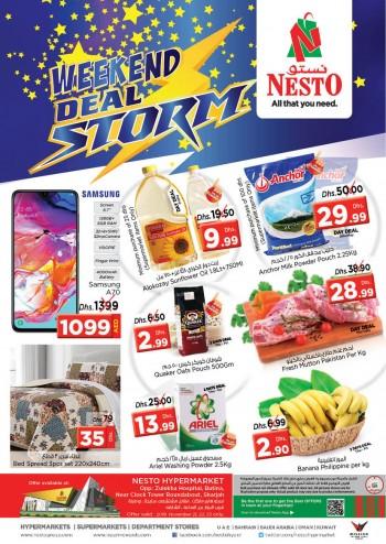 Nesto Nesto Butina Weekend Deals Storm