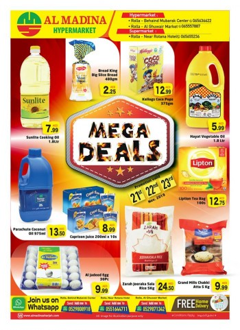 Al Madina Hypermarket Al Madina Sharjah Mega Deals