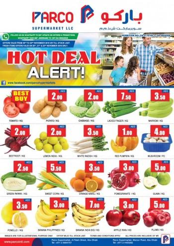 PARCO Hypermarket Parco Supermarket Hot Deal Alert