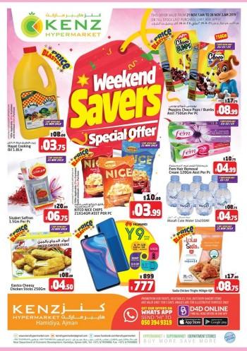 Kenz Kenz Hypermarket Weekend Savers Offers
