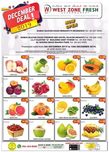 West Zone Fresh Supermarket West Zone Fresh Supermarket December Deals