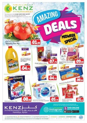 Kenz Hypermarket Midweek Amazing Deals