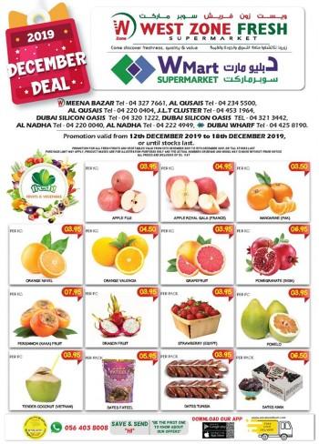 West Zone Fresh Supermarket West Zone Fresh Supermarket December Offers