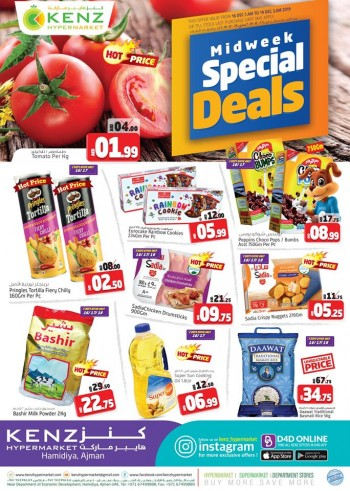 Kenz Kenz Hypermarket Midweek Special Deals
