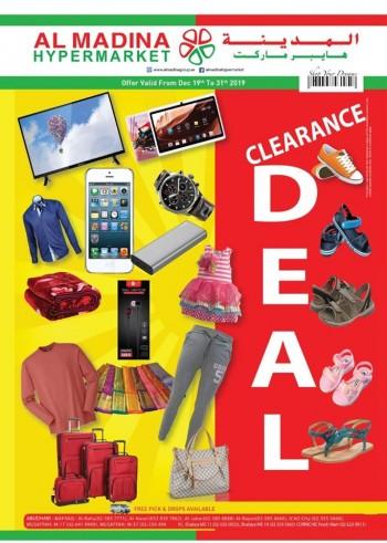 Al Madina Hypermarket Al Madina Clearance And Year End Deals