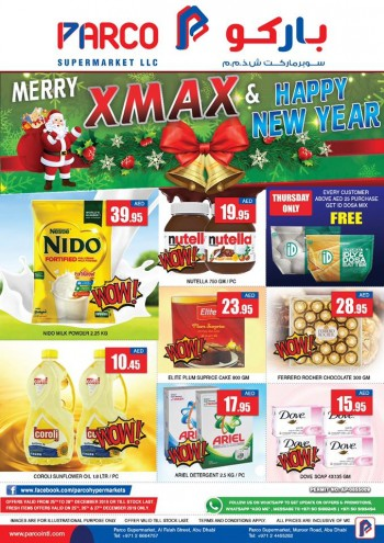 PARCO Hypermarket Parco Supermarkets Christmas New Year Offers