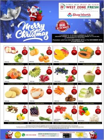 West Zone Fresh Supermarket West Zone Fresh Supermarket Christmas Offers