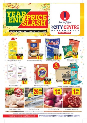 City Centre Supermarket New City Centre Hypermarket Year End Offers