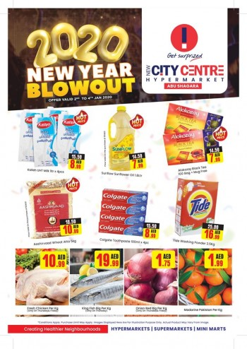 City Centre Supermarket New City Centre Hypermarket New Year Offers