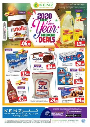 Kenz Kenz Hypermarket New Year Offers