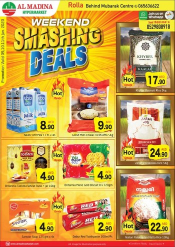 Al Madina Hypermarket Al Madina Rolla Weekend Smashing Deals
