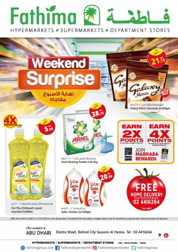 Fathima Fathima Supermarket Abu Dhabi Weekend Surprise