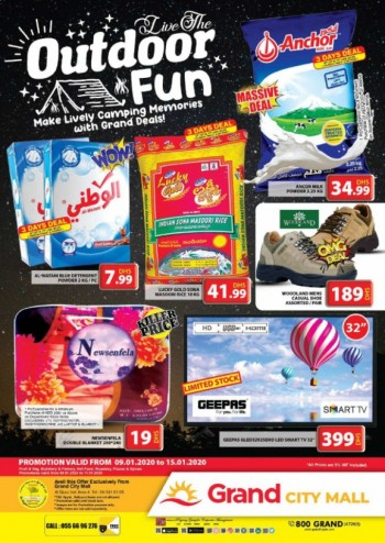 Grand Hypermarket Grand City Mall Outdoor Fun Offers