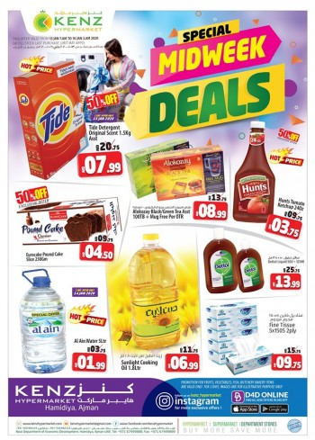 Kenz Kenz Hypermarket Special Midweek Deals